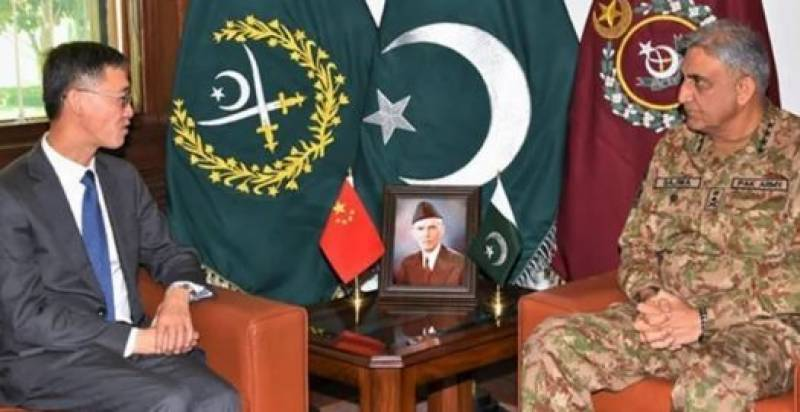 COAS Bajwa, Chinese envoy discusses COVID-19 situation