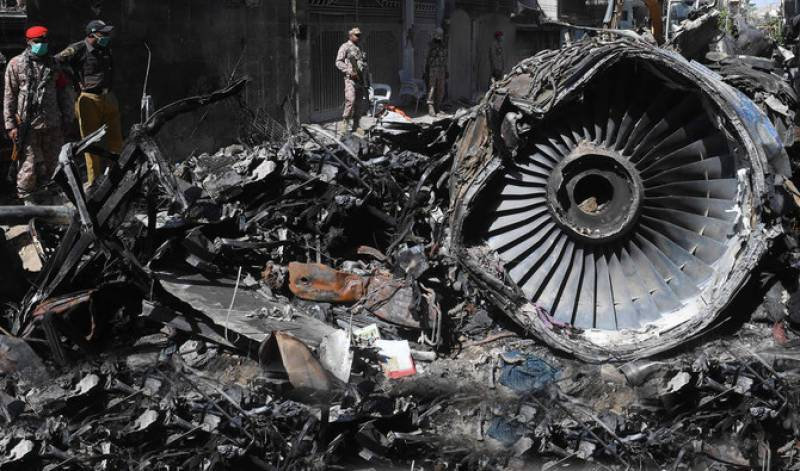 Cockpit voice recorder of PIA plane recovered from Karachi crash site