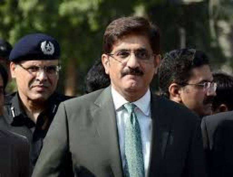 CM Sindh Murad Ali Shah appears before NAB Rawalpindi