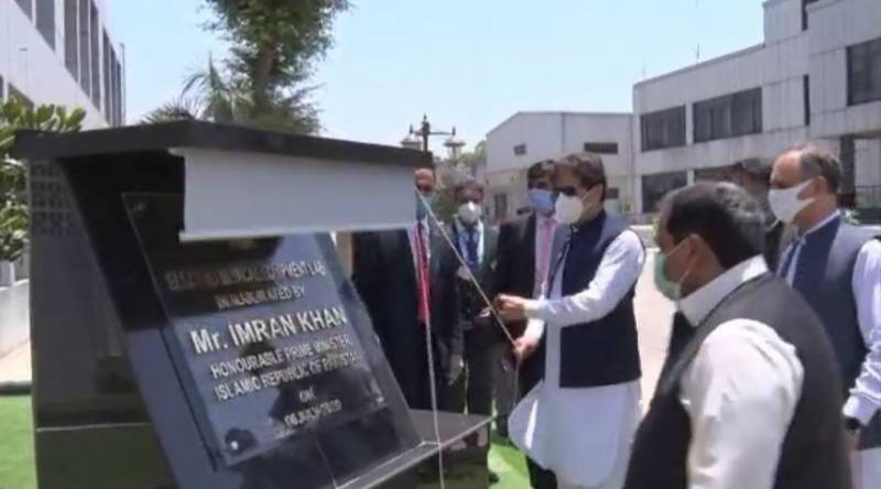PM Imran inaugurates first ever ventilator production facility in Pakistan