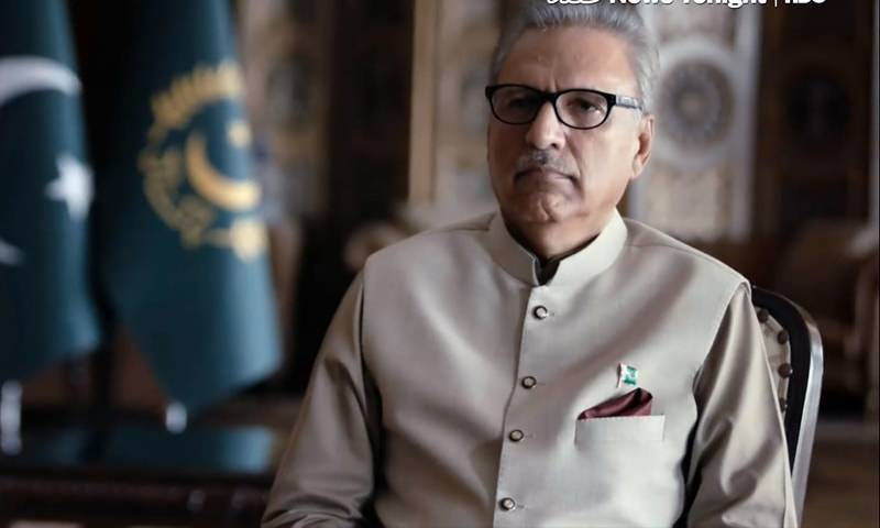 President Alvi urges people to follow SOPs during Eid-ul-Azha