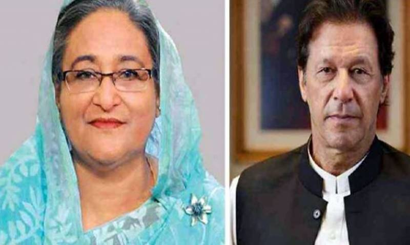 PM Imran phones Sheikh Hasina, extends condolences on loss of lives due to COVID-19 in Bangladesh
