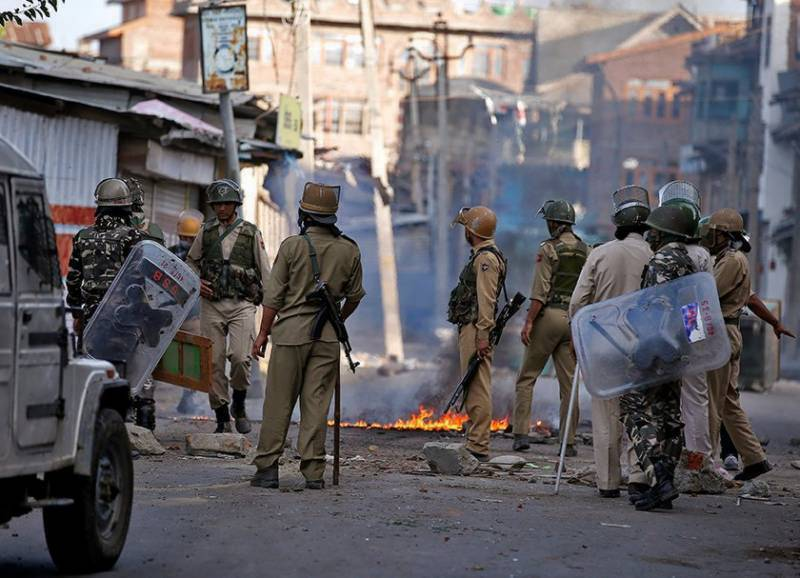 Indian troops martyr two Kashmiri youth in Srinagar