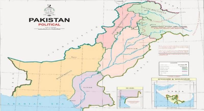 PM Imran unveils 'new political map' of Pakistan