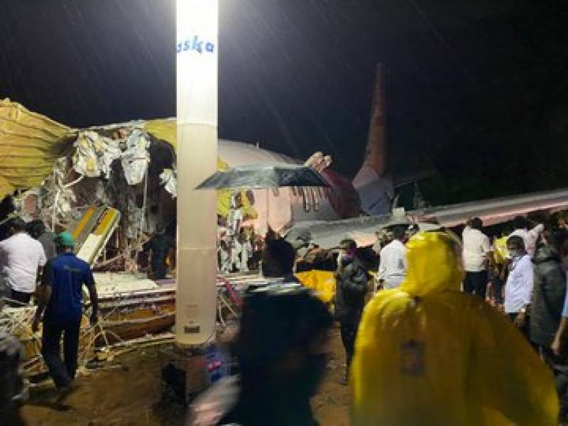 At least 20 dead as Air India jet crashes on landing in Kerala