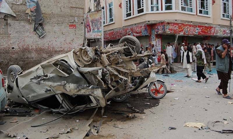 At least five killed, 12 injured in blast on Chaman's Mall Road