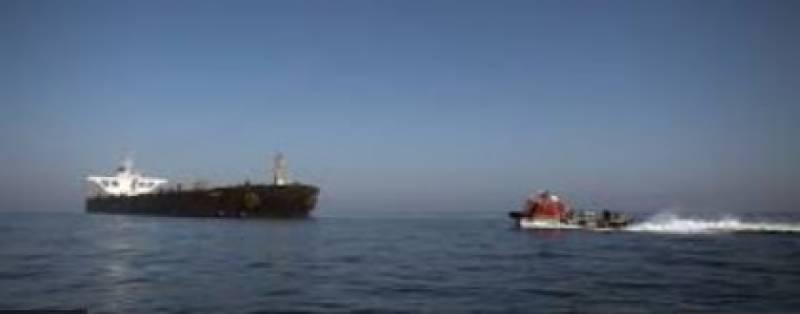 Iran briefly seized Liberian-flagged oil tanker near Strait of Hormuz: US