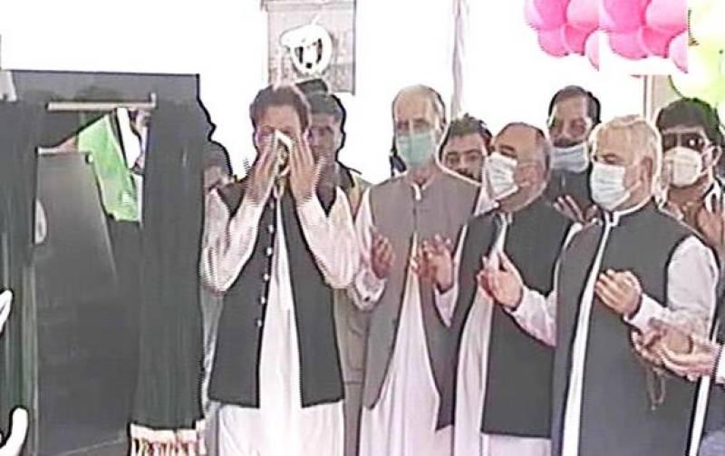 PM Imran inaugurates Peshawar BRT
