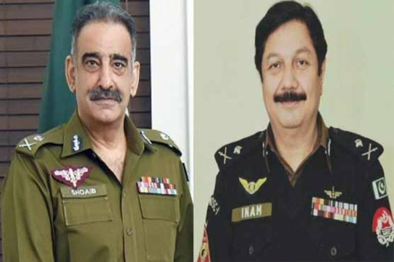 IGP Punjab Shoaib Dastagir removed after alleged row with CCPO Lahore