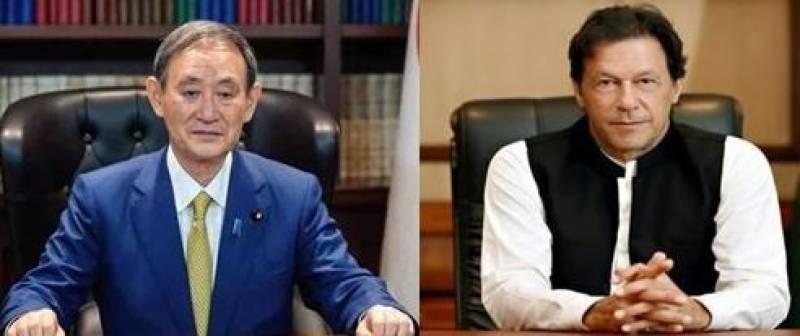 PM Imran felicitates Yoshihide Suga on electing as Japan's Prime Minister