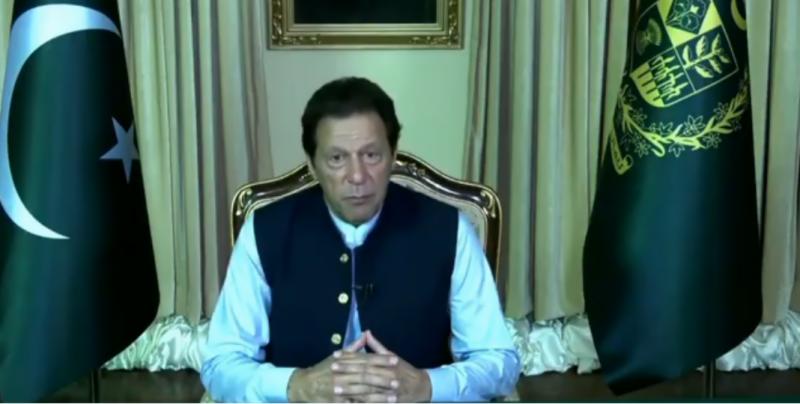 PM Imran raises Kashmir, blasphemy issue in UNGA address