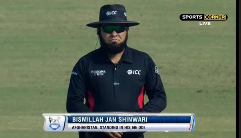 Afghanistan's umpire Bismillah Jan Shinwari dies in Nangarhar blast