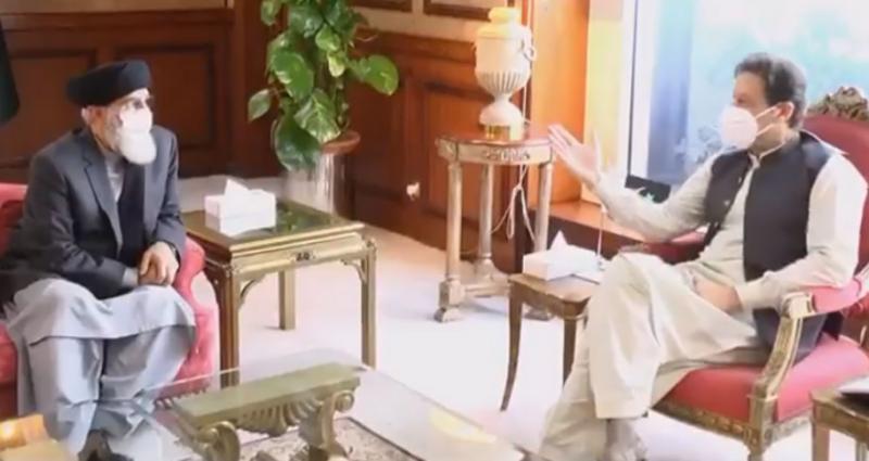PM Imran, Hekmatyar discuss mutual ties and Afghan peace process