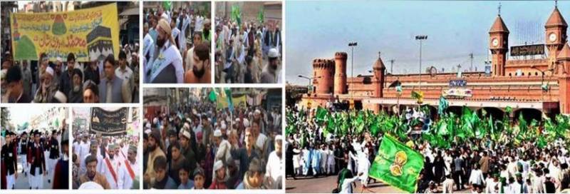 Pakistan celebrates Eid Milad-un-Nabi (PBUH) with religious zeal, fervour