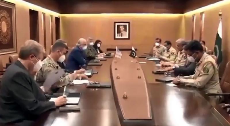 COAS Gen Bajwa, US envoy Zalmay Khalilzad discuss regional security