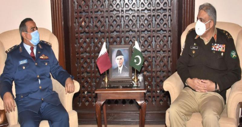 COAS Gen Bajwa, Qatari commander discuss regional security situation