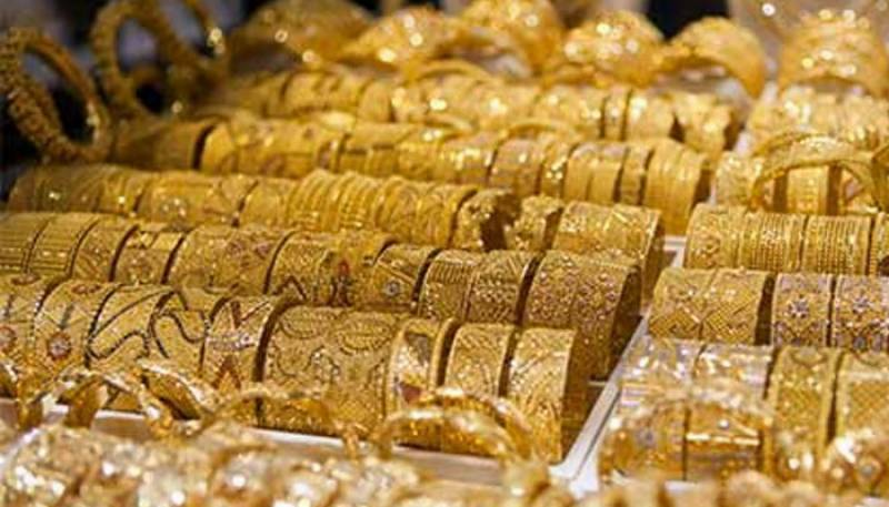 Gold prices decrease by Rs 2350 per tola