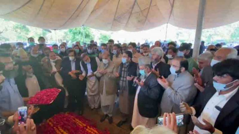 Nawaz Sharif's mother Begum Shamim Akhtar laid to rest in Lahore