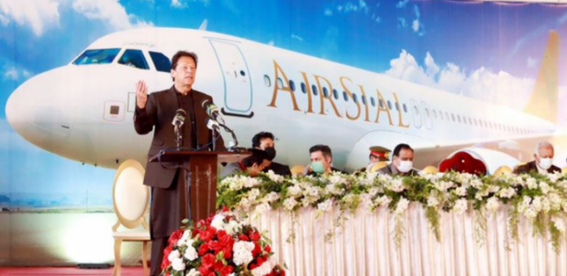 PM Imran inaugurates new private airline Air Sial