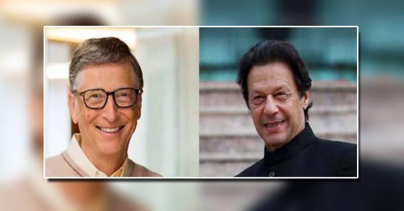 PM Imran, Bill Gates exchange views on COVID-19, polio eradication efforts in Pakistan