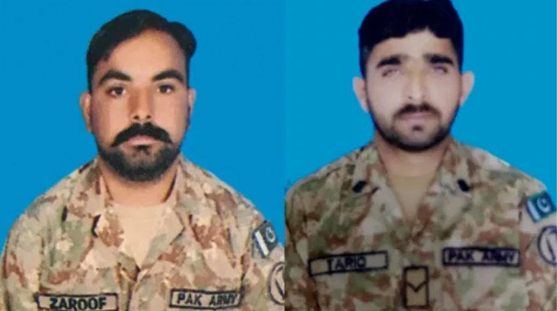 Two Pakistani soldiers martyred in Indian firing along LoC: ISPR