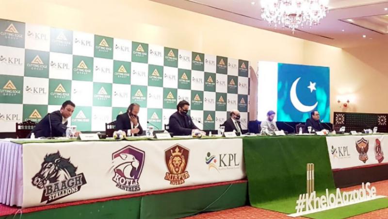 Kashmir Premier League (KPL) launched