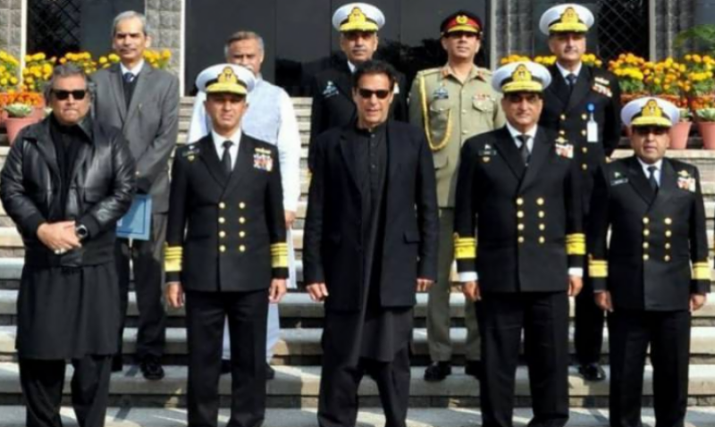 PM Imran hails Pakistan Navy's efforts for defence of maritime frontiers