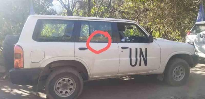 observers, damaged, rawalakot, probing, incident, UN, neo tv