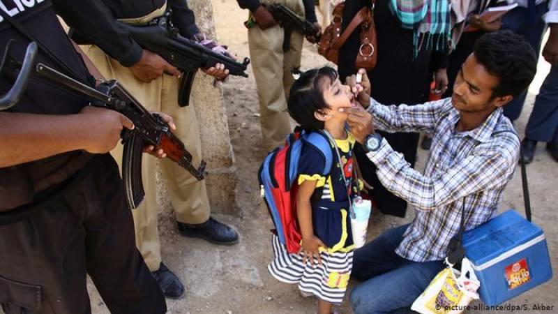 Policeman escorting polio team martyred in KP's Karak