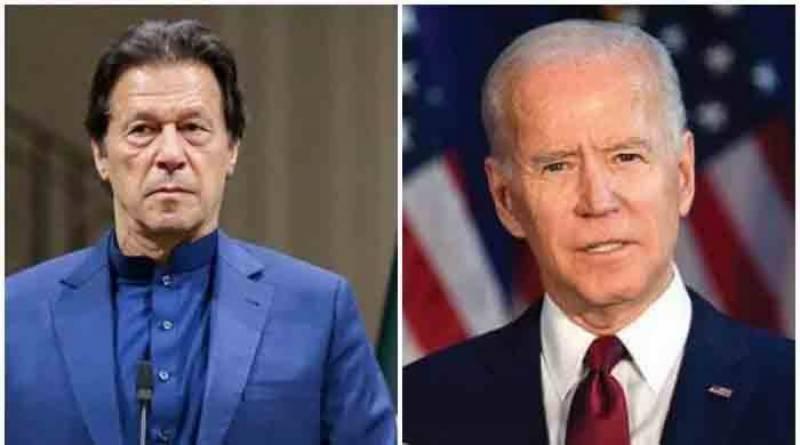 PM Imran Khan congratulates new US President Joe Biden