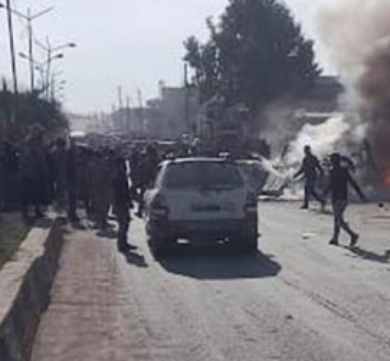 killed, syria, car, blasts, neo tv
