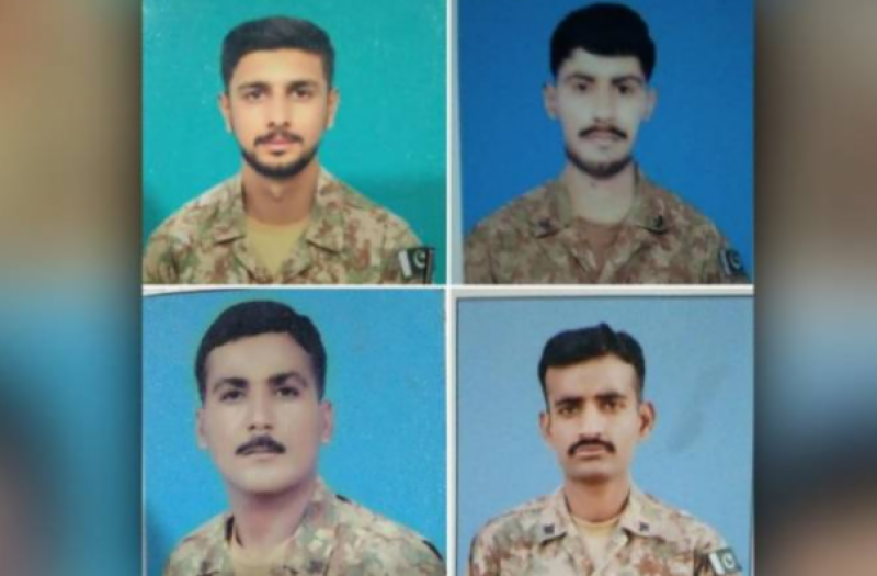 Four Pakistan Army soldiers martyred in South Waziristan security post attack