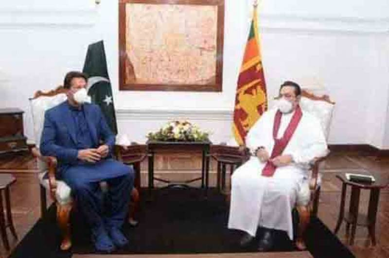 PM Imran, Sri Lankan counterpart Mahinda Rajapaksa discuss bilateral ties