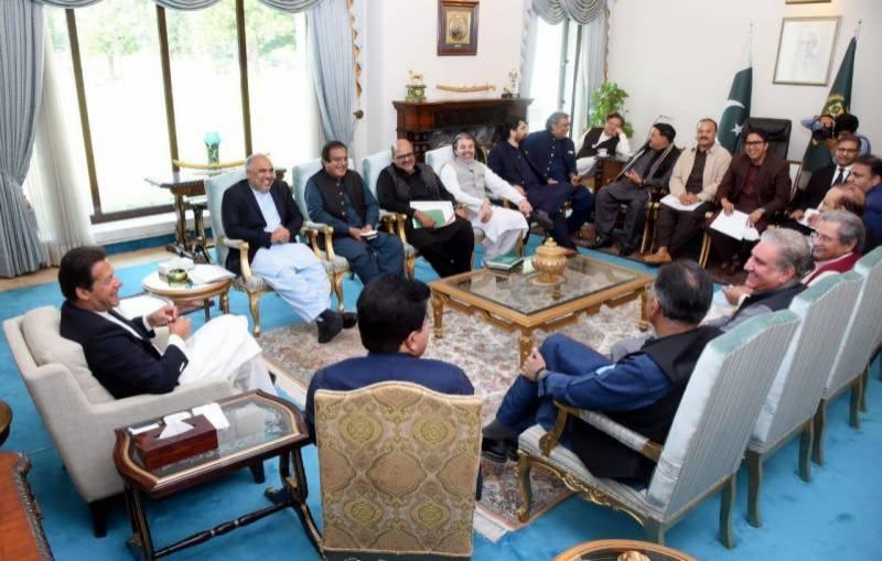 PM Imran nominates Sadiq Sanjrani for Senate chairmanship