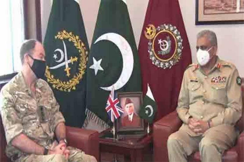 COAS Bajwa, UK military commander discuss matters of mutual interest
