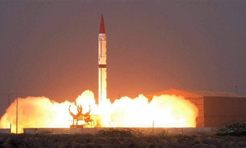 pakistan, launch, shaheen, ballistic, missile, ispr, neo tv