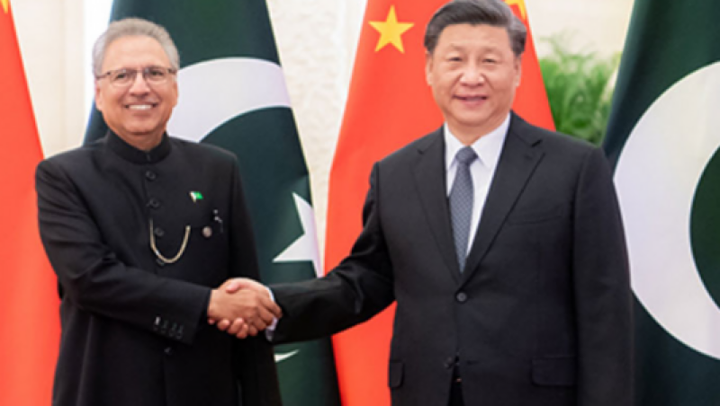 China's Xi Jinping wishes President Alvi speedy recovery from Covid-19