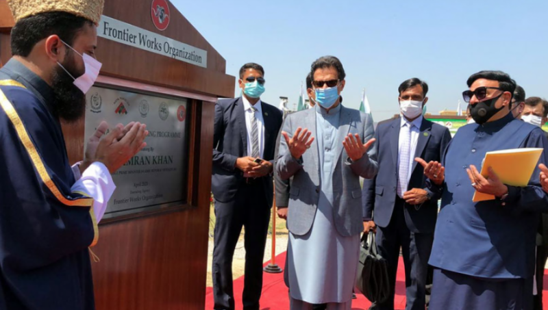 PM Imran performs groundbreaking of Farash Town apartments in Islamabad