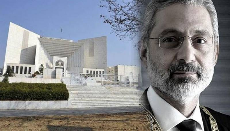 SC rejects Justice Faez Isa's plea for live broadcast of review petitions