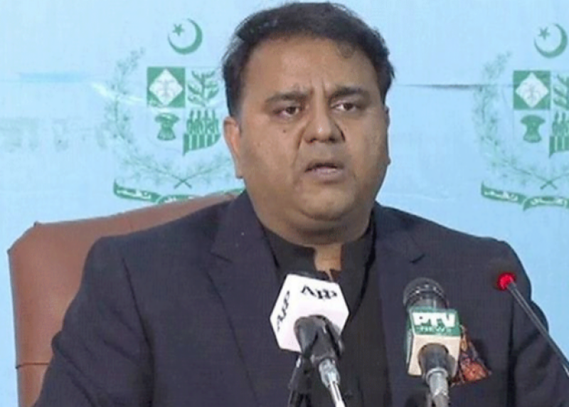 Rana Sanaullah to be booked under anti-terrorism laws, says Fawad Chaudhry