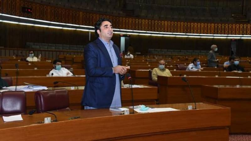 Bilawal says govt did not take NA into confidence over agreement with TLP