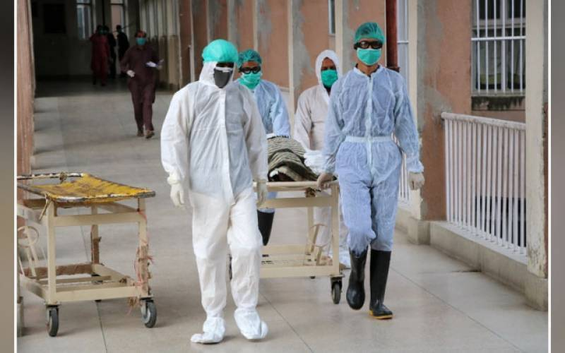 COVID-19: Pakistan reports 5,870 new cases 144 deaths in last 24 hours