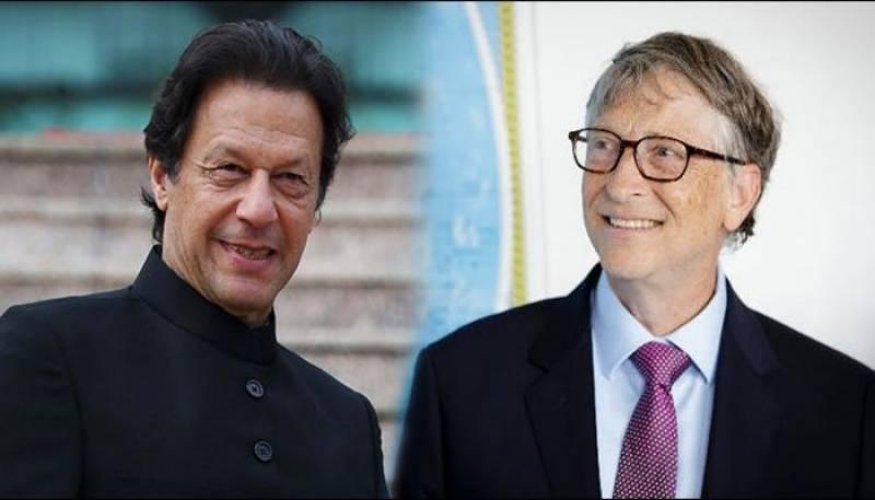 PM Imran, Bill Gates discuss COVID-19, polio eradication and climate