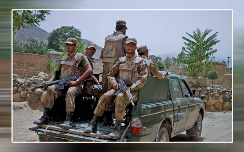 Four FC personnel martyred in terrorist attack from Afghanistan: ISPR
