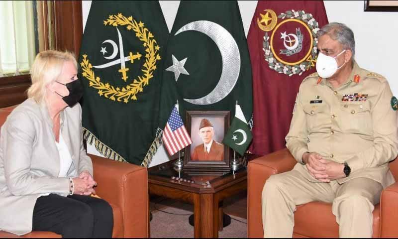 COAS Bajwa, US diplomat discuss regional security situation, Afghan peace process