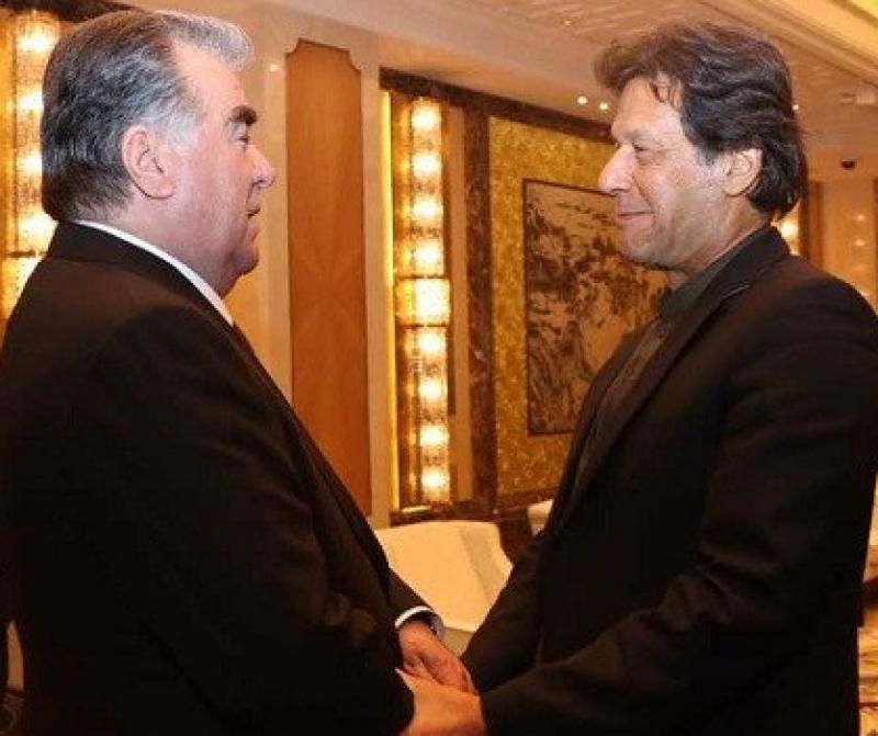 tajik president, pakistan, visit, PM, Imran, neo tv