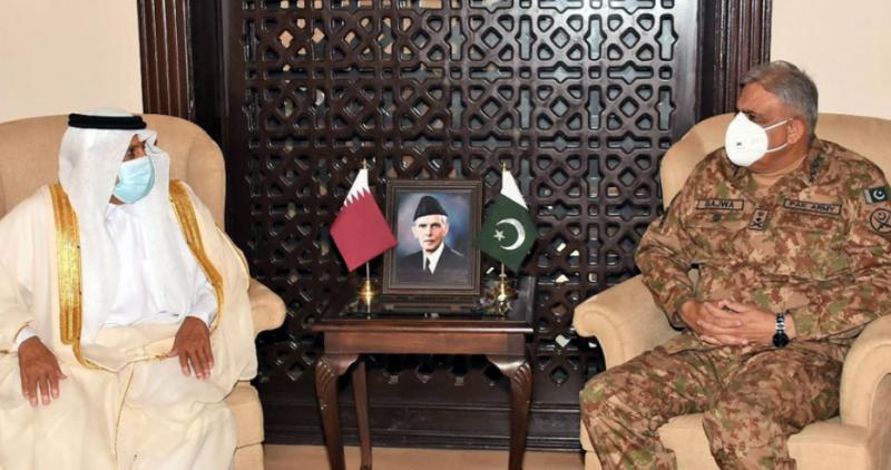COAS Gen Bajwa appreciates Qatar's support to Pakistan in various domains