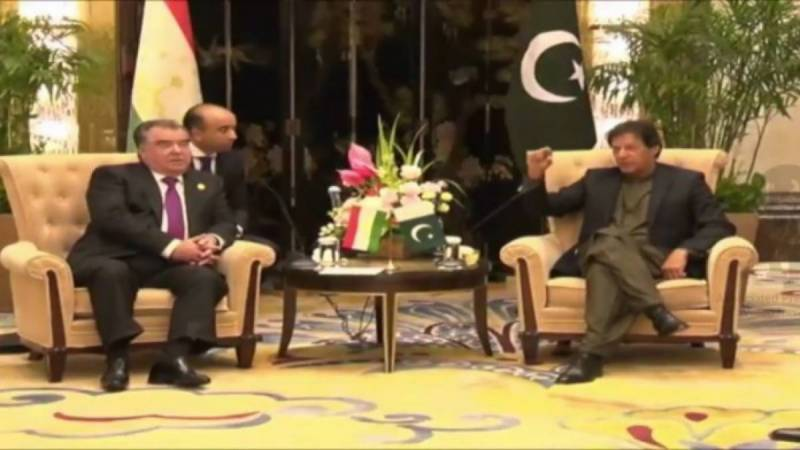Peace in Afghanistan imperative for trade, connectivity with Tajikistan: PM Imran