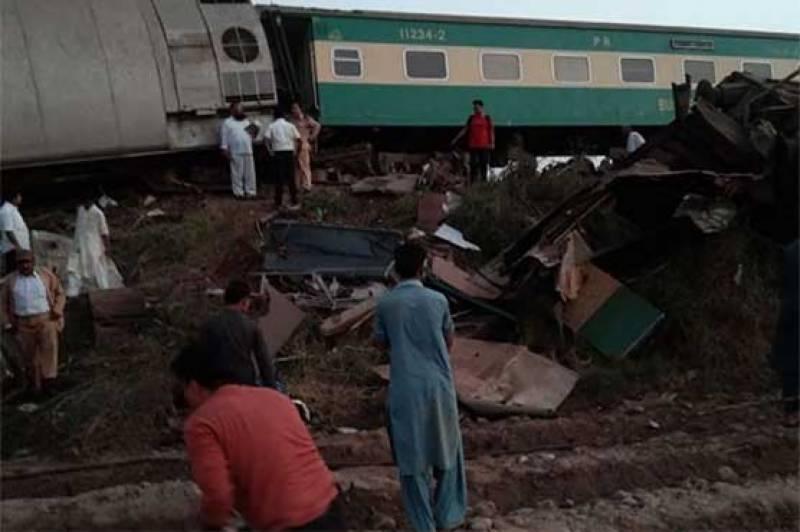 Death toll in Ghotki train crash rises to 63