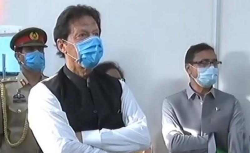 PM Imran inaugurates one-window Ehsaas center in Islamabad